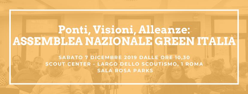 7 dicembre Roma - Assemblea Nazionale Ponti, Visioni, Alleanze